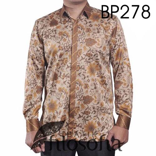 Hem Batik Pria Eksklusif 278