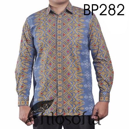 Hem Batik Pria Motif Unik 282