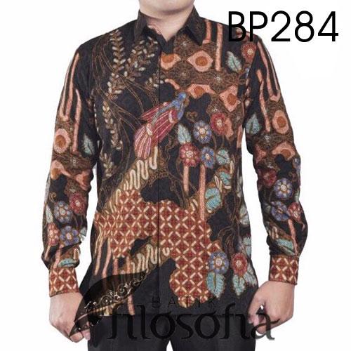 Kemeja Batik Pria Tulis Terbatas 284