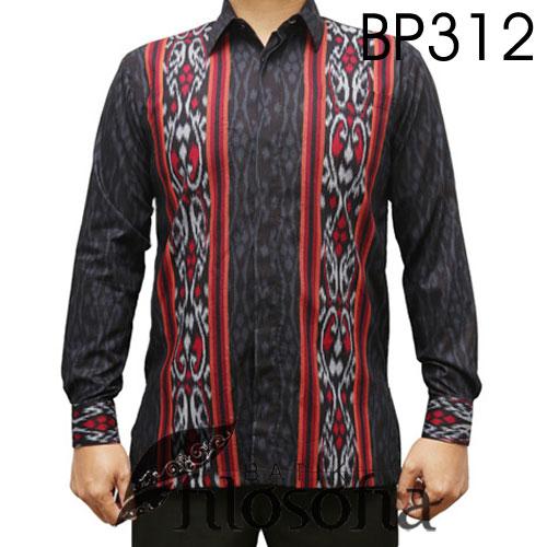 Kemeja Batik Dayak