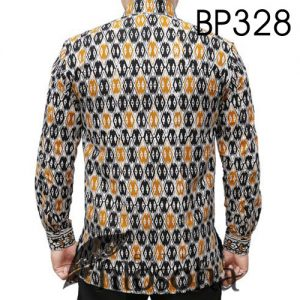 Kemeja Batik Cap Elegan