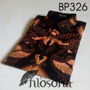 Kemeja Batik Tulis Motif Burung