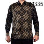 Kemeja Batik Sogan