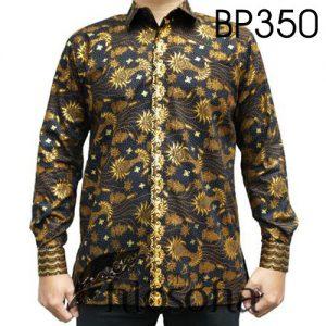 Baju Batik Pria Eksklusif Bahan Katun