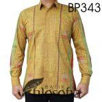 Kemeja Batik Motif Tenun Bali
