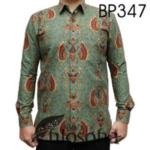 Kemeja Batik Pria Bahan Katun