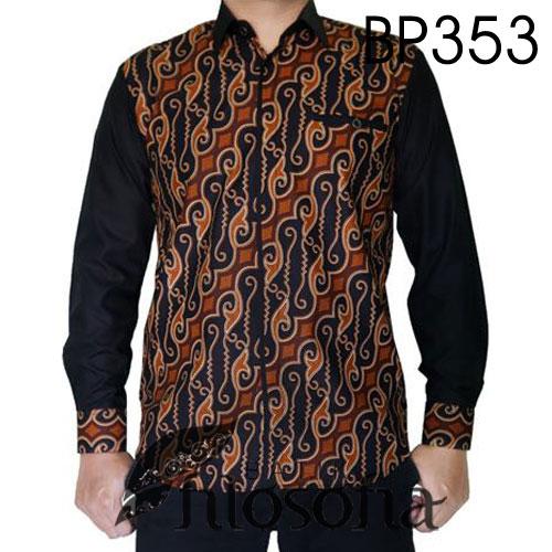 Baju Batik Kombinasi Katun Terbaik