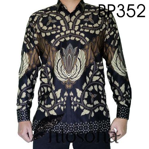 Baju Batik Semi Sutra Motif Elegan
