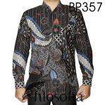 Baju Batik Pria Motif Burung