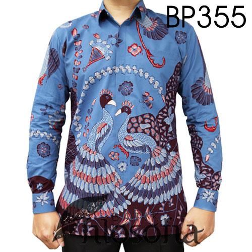 Baju Batik Tulis Dua Burung