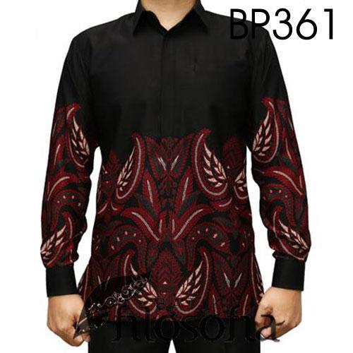Kemeja Batik Motif Elegan
