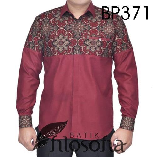 Baju Batik Kombinasi Katun