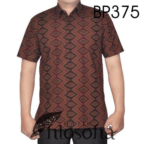 Kemeja Batik Pendek