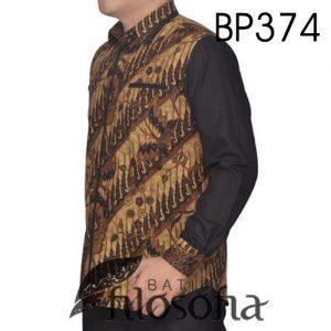 Hem Batik Kombinasi