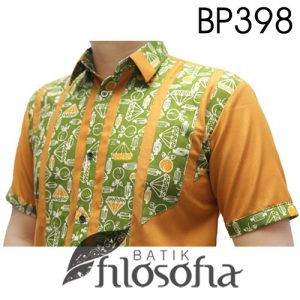 Baju Batik Kombinasi Keren