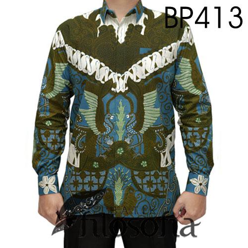 Kemeja Batik Asli