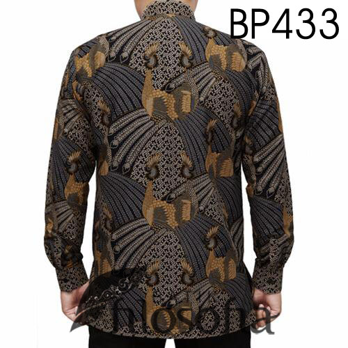Gambar Batik Kerah Koko