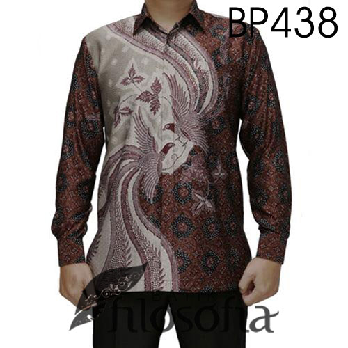 Batik Semi Sutra Pria