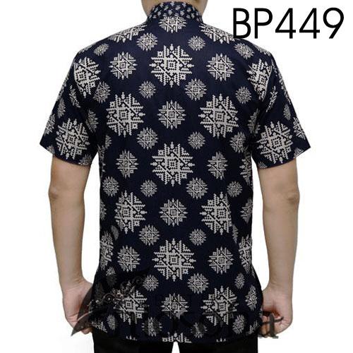 Gambar Baju Batik Pria Lengan Pendek