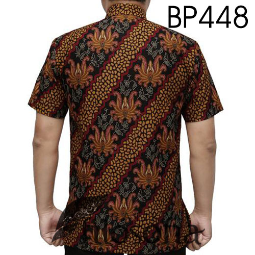 Gambar Batik Koko Pendek