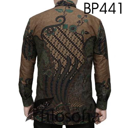 Gambar Hem Batik Pria Formal