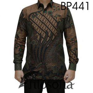 Hem Batik Pria Formal