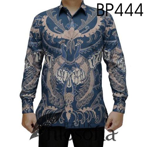Kemeja Batik Tulis Elegan
