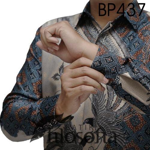 Picture Baju Batik Pria Semi Sutra
