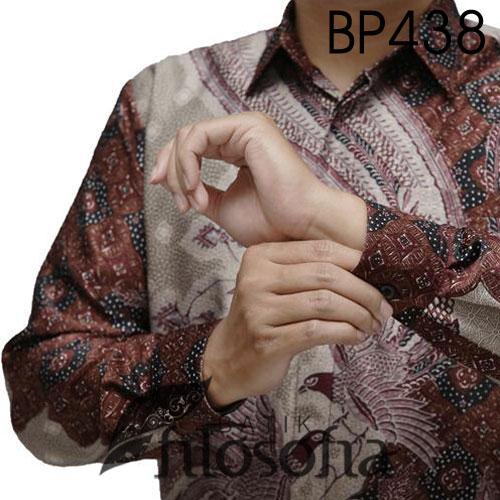 Picture Batik Semi Sutra Pria