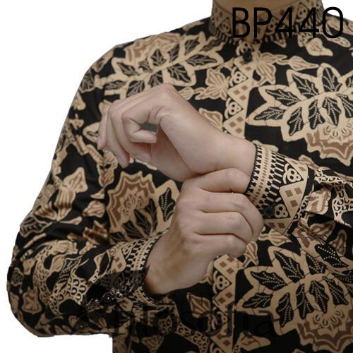 Picture Hem Batik Katun Panjang