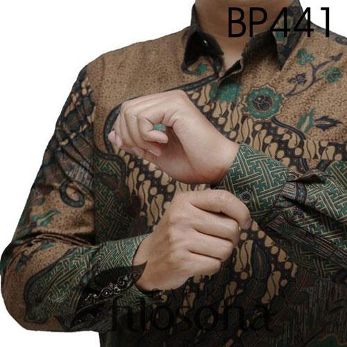 Picture Hem Batik Pria Formal