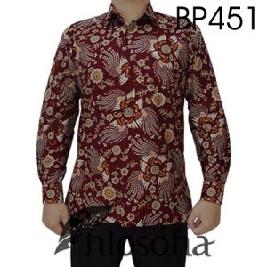 Kemeja Batik Pria Katun