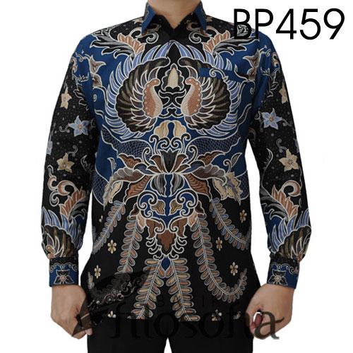 Kemeja Batik Katun Elegan