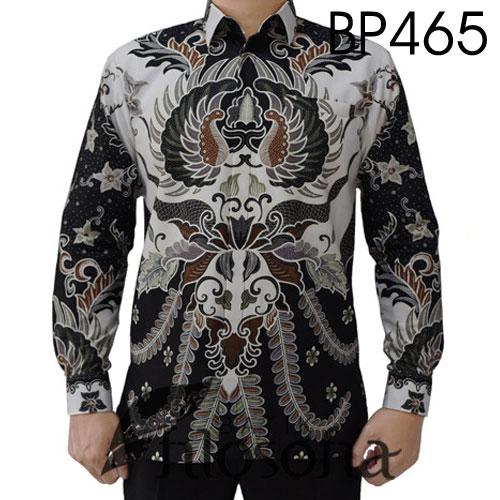 Kemeja Batik Elegan Katun