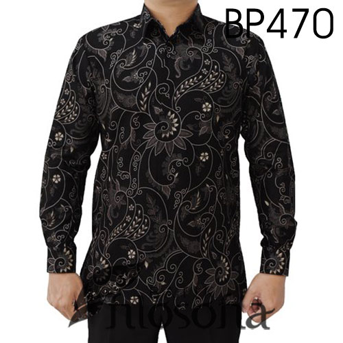 Batik Hitam Pria