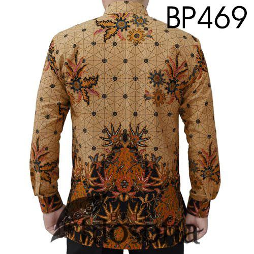 Gambar Baju Batik Pria Katun
