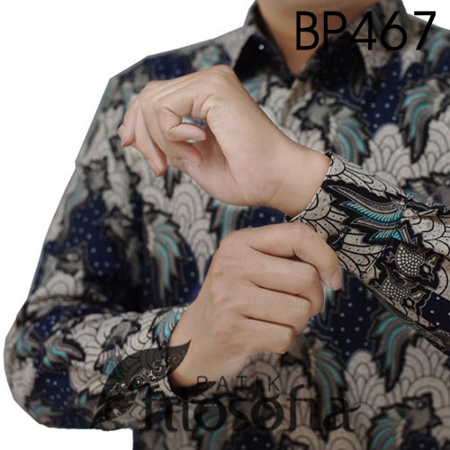 Image Baju Batik Fashion Pria