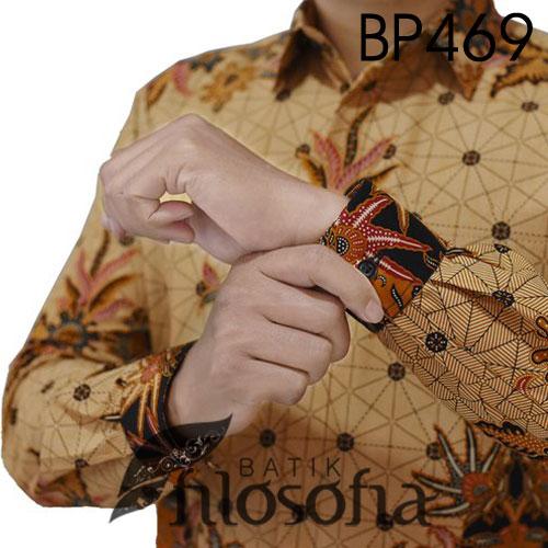 Image Baju Batik Pria Katun