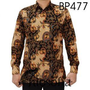 Baju Batik Motif Daun