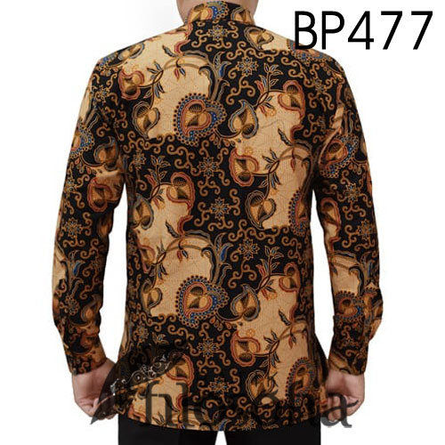Gambar Baju Batik Motif Daun