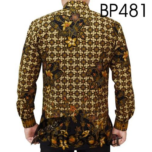 Gambar Batik Pria Motif Bunga