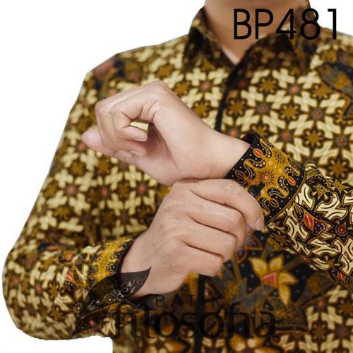 Image Batik Pria Motif Bunga
