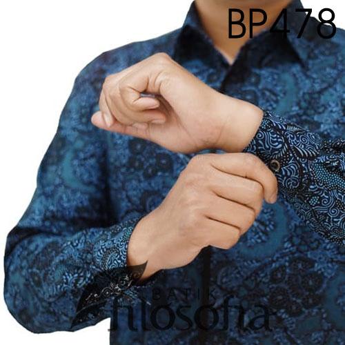 Images Kemeja Batik Motif Bunga