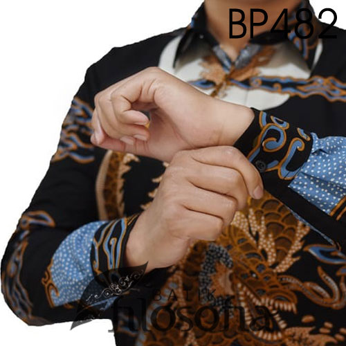 Picture Batik Tulis Motif Ular