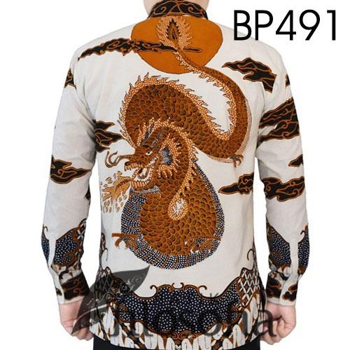 Gambar Batik Tulis Motif Naga