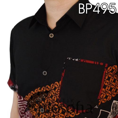 Picture Baju Batik Kombinasi Modern