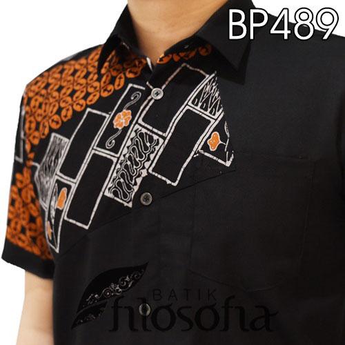 Picture Baju Batik Pendek Kombinasi