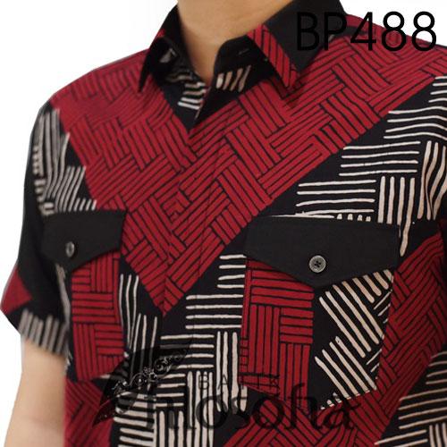 Picture Batik Lengan Pendek Terbatas