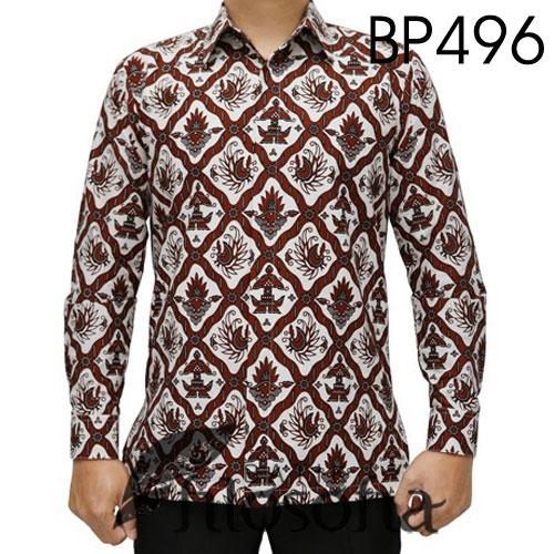 Baju Batik Putih