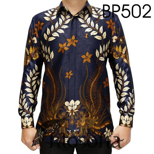 Baju Batik Satin Elegan
